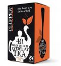 Clipper Fairtrade Everyday Tea 40 Tea Bags 125g