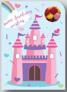 Sweeting Cards - Sweet Birthday Wishes Princess - Milk Chocolate Beans 75g