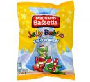 Maynards Bassetts Jelly Babies Snowmans 165g