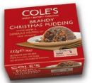 Coles Traditional Brandy Christmas Pudding 112g