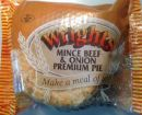 Wrights Premium Minced Beef & Onion Pie 225g