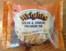 Wrights Premium Steak & Onion Pie 220g