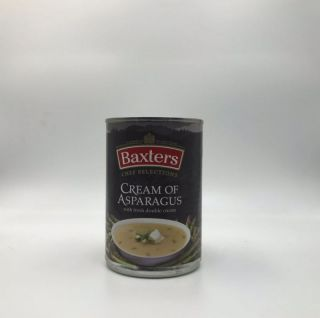 Baxters Luxury Cream of Asparagus Soup with Double Cream 400g