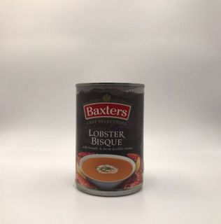 Baxters Luxury Lobster Bisque with Brandy & Fresh Double Cream 400g