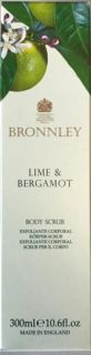 Bronnley Lime & Bergamot Body Scrub 300ml