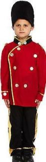 Busby Guard Costume for Boys - Size M - 7-9Y