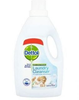 Dettol Anti Bacterial Laundry Cleaner Fresh Cotton 1L