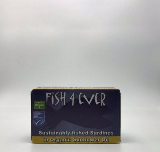 Fish 4 Ever Sardines in Sunflower Oil 120g
