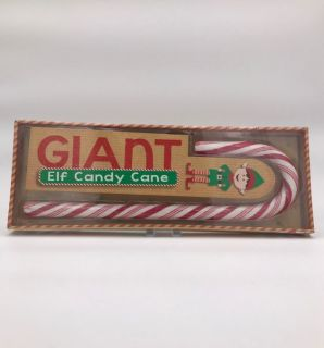 Giant Elf Candy Cane - Peppermint Flavour - 400g