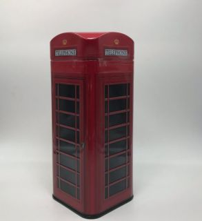 Grandma Wild´s  Telephone Box (Tin) Shortbread Biscuits 150g