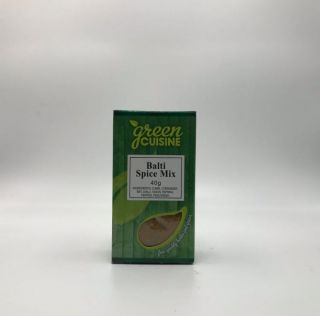 Green Cuisine Balti Spice Mix 40g