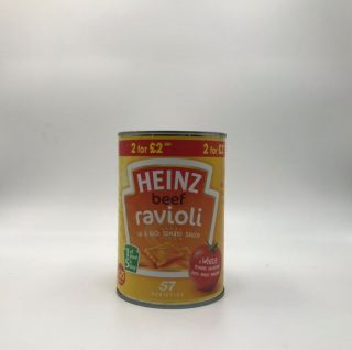Heinz Beef Ravioli in Tomato Sauce 400g