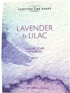 Lavender & Lilac    Luxury Soap 150g