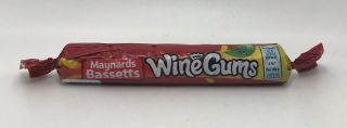 Maynards Bassetts Wine Gums Roll 52g
