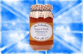 Mrs Darlingtons Orange & Brandy Marmelade 340g