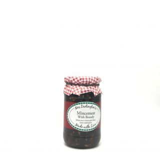 Mrs.Darlingtons Mincemeat with Brandy 410g