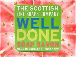 Scottish Fine Soap Company Soap in a Tin - Well Done - 100g