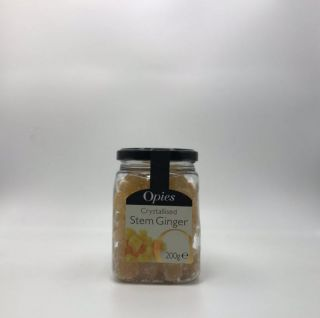 Opies Crystallised Stem Ginger 200g