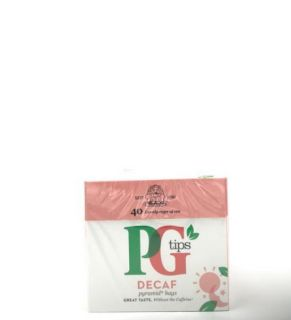 PG Tips Decaffinated 40 Pyramid Tea Bags 125g