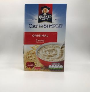 Quaker Oat So Simple Original 12 Sachets 324g
