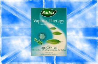 Radox Vapour Therapy Herbal Bath Salts with Eucalyptus 400g