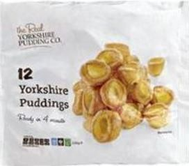 Real Yorkshire Puddings185g 12s