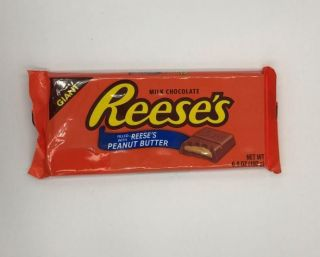 Reeses Giant Peanut Butter Milk Chocolate Bar 192g