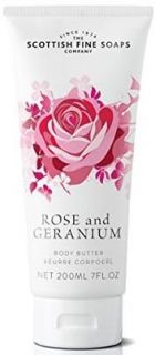 Rose and Geranium   Body Butter 200ml
