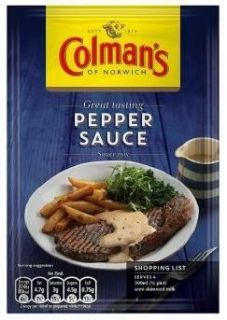**Sale** Colmans of Norwich Pepper Sauce Mix 40g - MHD 30.11.17