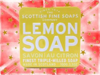 Scottish Fine Soap Company - Lemon Soap in a Tin 100g