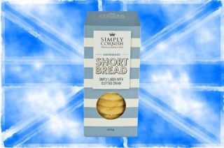 Simply Cornish Chunky Chocolate & Clotted Cream Shortbread 200g