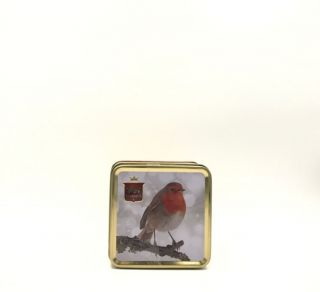 Stewarts Luxury Scottish Fudge - Red Robin of Winter Tin 100g