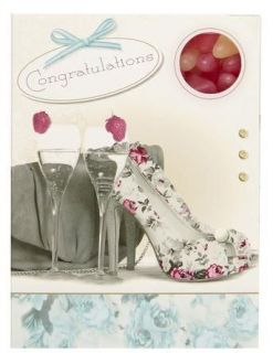 Sweeting Cards - Congratulations with Champagne - Jelly Beans 85g