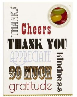 Sweeting Cards - Thank you! - Jelly Beans 85g