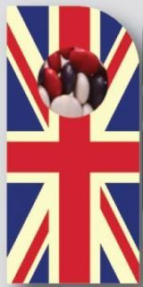 Sweeting Cards - Union Jack Small - Milk Chocolate Beans 75g