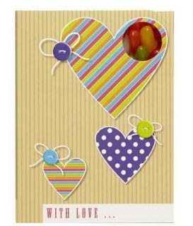 Sweeting Cards - With love... - Jelly Beans 85g