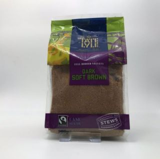 Tate & Lyle Fairtrade Dark Brown Soft Sugar 500g