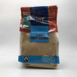 Tate & Lyle Fairtrade Light Brown Soft Sugar 500g