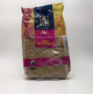 Tate & Lyle Fairtrade Light Muscovado Sugar 500g