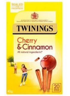 Twinings Cherry & Cinnamon 20 Tea Bags 40g