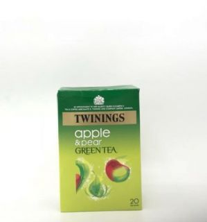 Twinings Green Tea with Apple & Pear 20 Tea Bags 40g