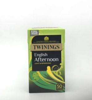 Twinings Traditional Afternoon Tea 50 Tea Bags 125g
