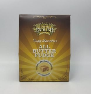 Ultimate English Simply Marvellous All Butter Fudge 150g