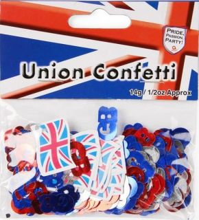 Union Jack & Great Britain Confetti