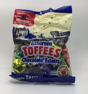 Walkers Assorted Toffees and Chcolate Eclairs Bag 150g