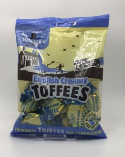 Walkers English Creamy Toffees Bag 150g