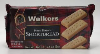 Walkers Pure Butter Shortbread Fingers 160g
