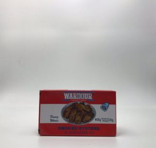 Wardour Fancy Whole Smoked Oysters 85g