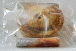 Wrights Pork Pie Small 147g