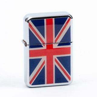 Union Jack Windproof Petrol Lighter